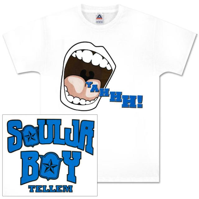 "Soulja Boy Tell 'Em ""YAHHH!"" Men's T-Shirt"