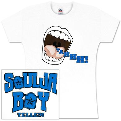 Soulja Boy Tell 'Em Yahhh!!!! Womens Tee