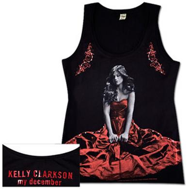Kelly Clarkson Girls' Black Tank Top