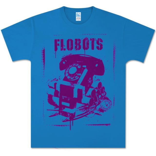 Flobots Phone Bomb T-Shirt (Teal)