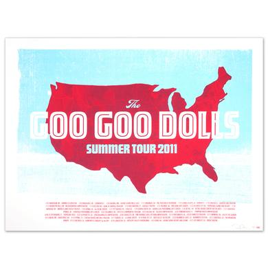 Goo Goo Dolls Tour Litho