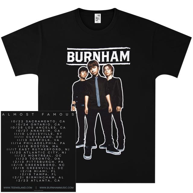 Burnham 2010 Tour T-Shirt