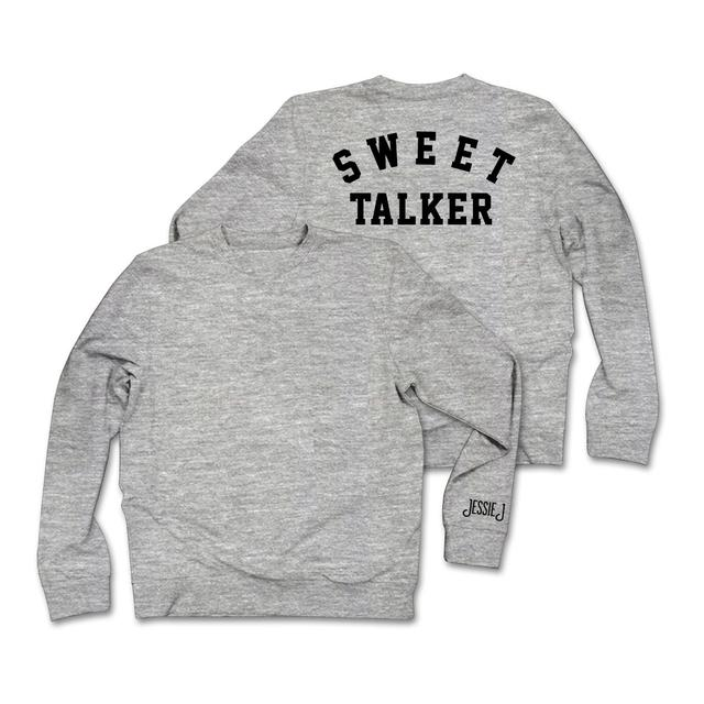 Jessie J Sweet Talker Text Sweatshirt