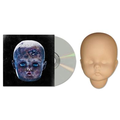 The Black Dots Of Death Black Dots of Death S.A.T.A.N. Series Baby Doll Head and CD
