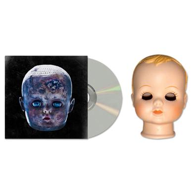 The Black Dots Of Death Black Dots of Death Slit Your Throat Series Baby Doll Head and CD