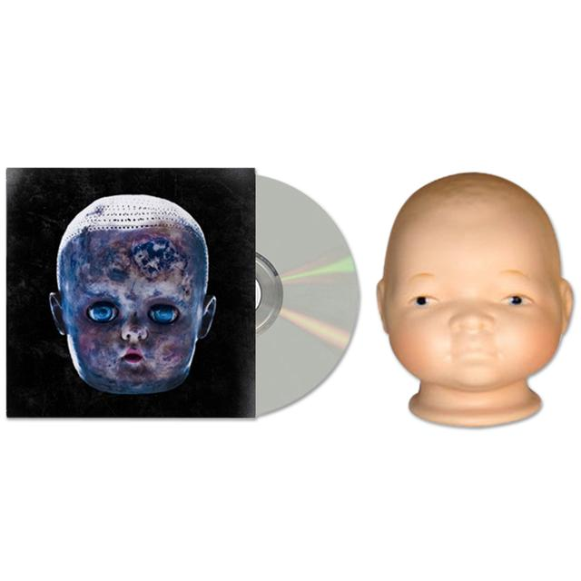 The Black Dots Of Death Black Dots of Death Lower Than Dirt Series Baby Doll Head and CD