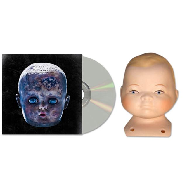 The Black Dots Of Death Black Dots of Death Ever Since We Were Children Series Baby Doll Head and CD