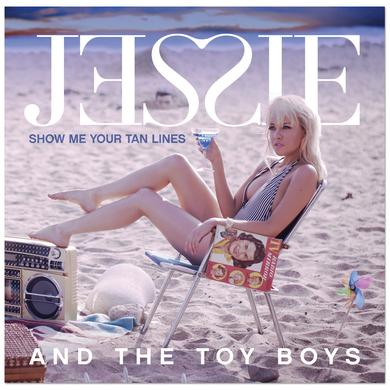 Jessie and the Toy Boys - Show Me Your Tan Lines EP CD (Vinyl)