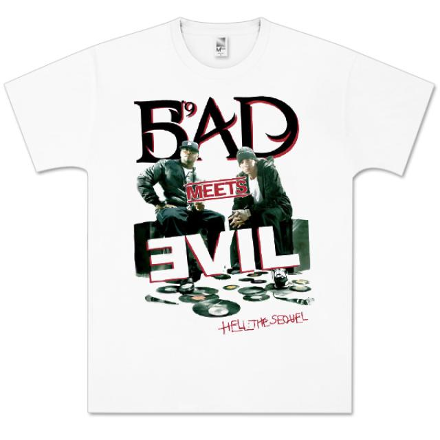 Bad Meets Evil Carved T-Shirt