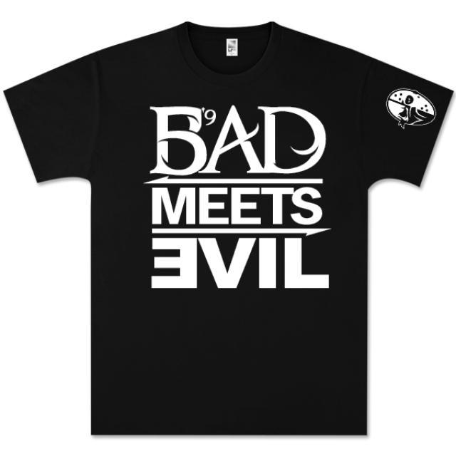 Bad Meets Evil Square Logo T-Shirt