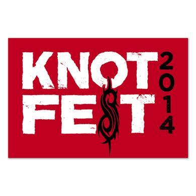 Knotfest Stacked Logo Flag