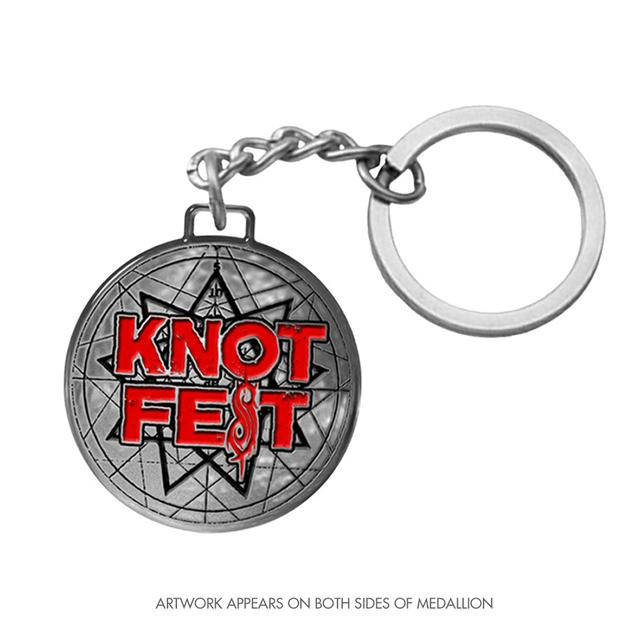 Knotfest Star Logo Keychain