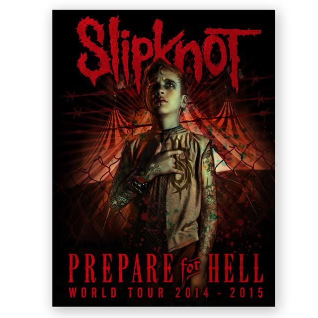 "Knotfest Slipknot Prepare For Hell ""The Pledge"" Litho"