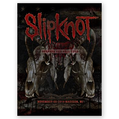 Knotfest Slipknot Madison Event Poster