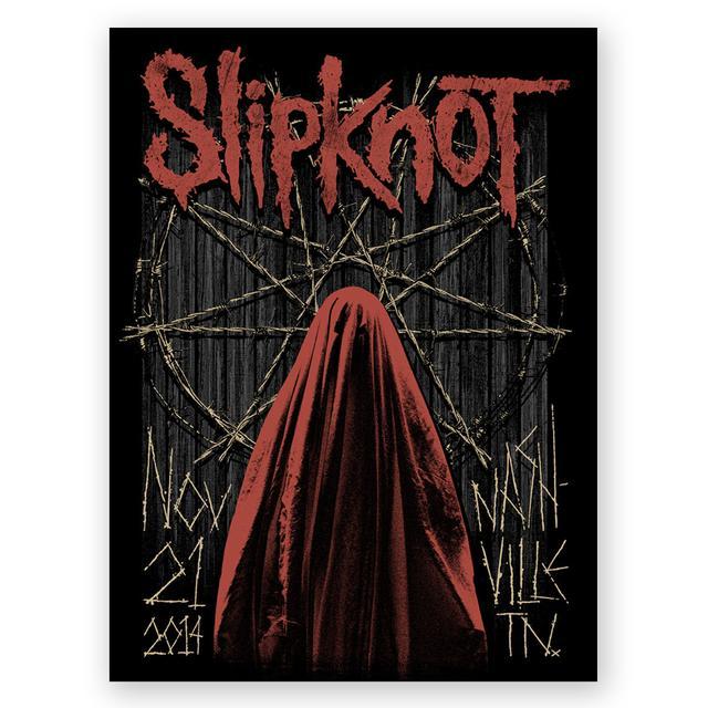 Knotfest Slipknot Nashville Event Poster