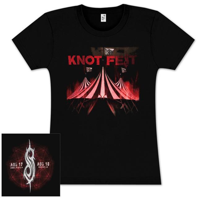 Knotfest Festive Girlie T-Shirt