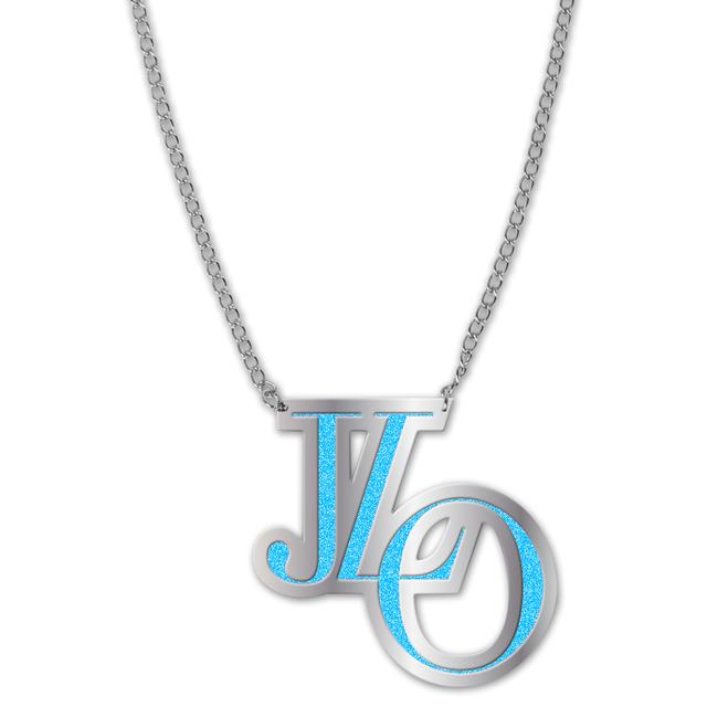 Jennifer Lopez J Lo Necklace