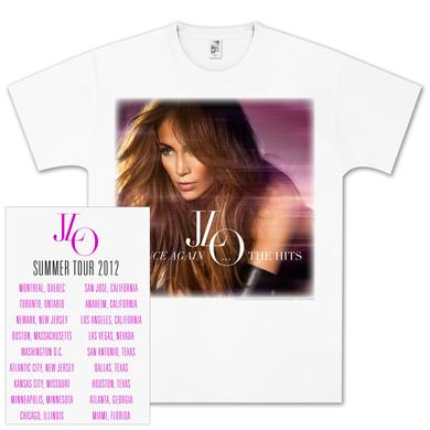 Jennifer Lopez J LO 2012 Summer Tour Crawling Dance T-Shirt