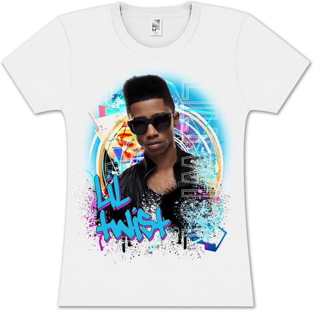 Lil Twist Grafitti Splash Girlie T- Shirt
