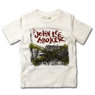 Friend Or Foe John Lee Hooker Country Blue Youth T-Shirt on Gallery White