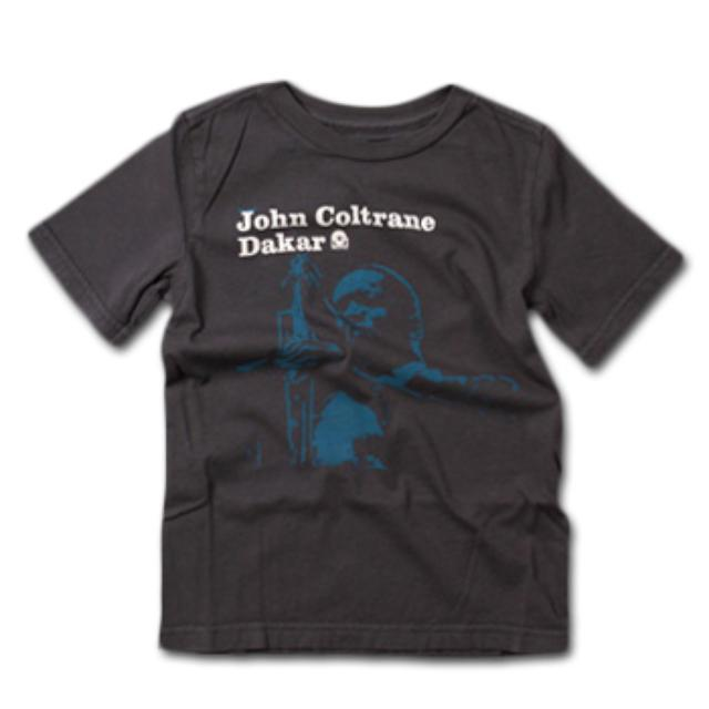 Friend Or Foe John Coltrane Dakar Youth T-Shirt on Gladiator Grey