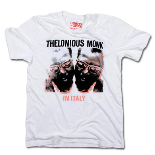 Friend Or Foe Monk Italy T-Shirt on White