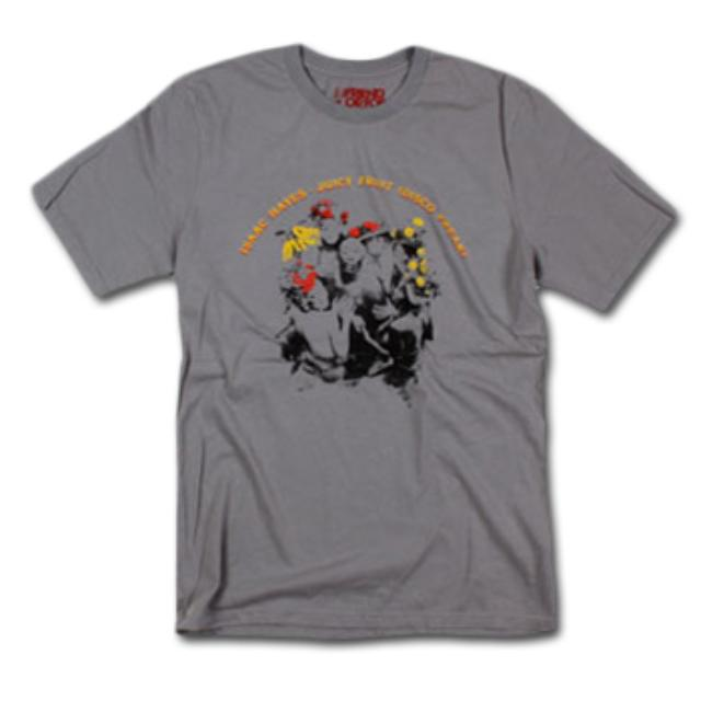 Friend Or Foe Juicy Fruit T-Shirt on Grey