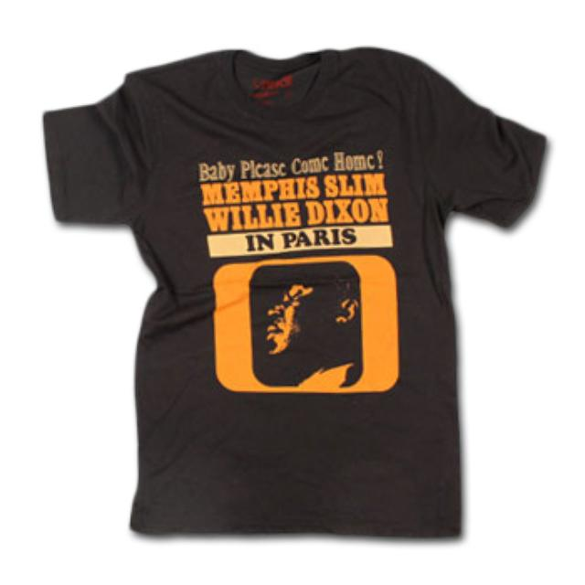Friend Or Foe Memphis Slim T-Shirt on Black