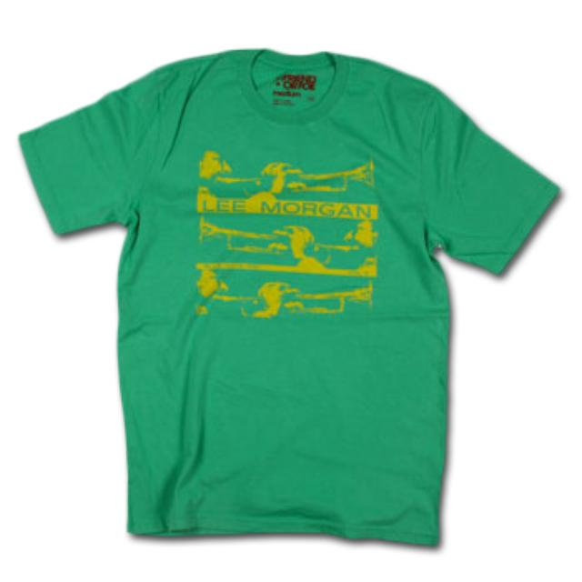 Friend Or Foe Lee Morgan T-Shirt on Kelly Green