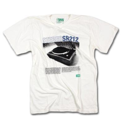 Friend Or Foe Stereo Foe T-Shirt on White