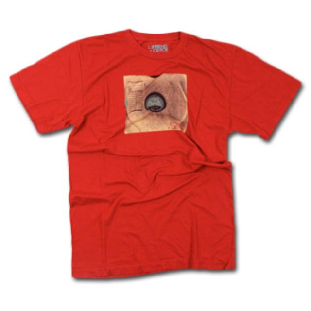 Friend Or Foe LP T-Shirt on Red (Vinyl)