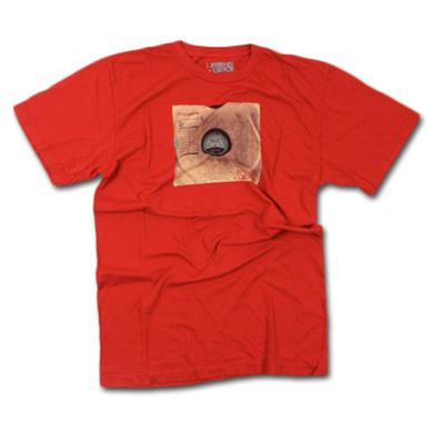 Friend Or Foe LP T-Shirt on Red