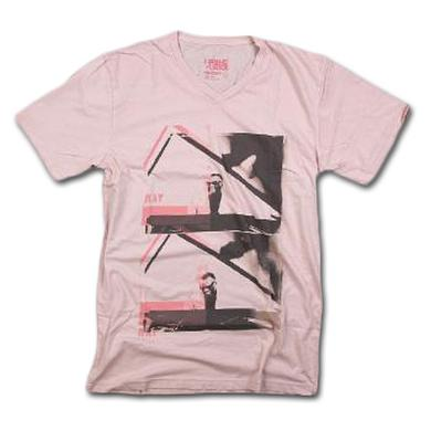 Friend Or Foe Double Feature T-Shirt on Pink
