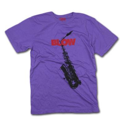Friend Or Foe Blow T-Shirt on Purple