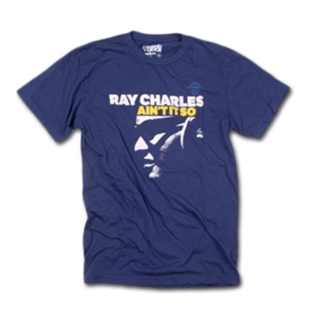 Friend Or Foe Ain't It So T-Shirt on Blue