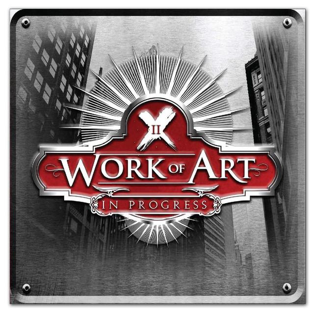 Frontiers Records - Work of Art  - In Progress CD