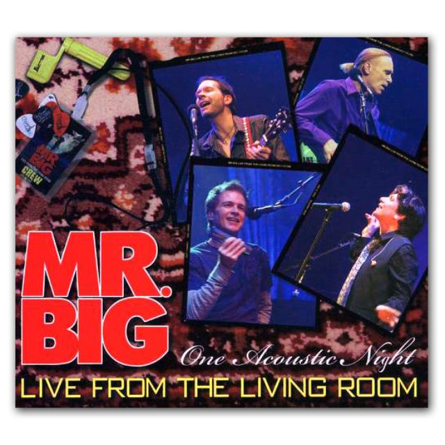 Frontiers Records - Mr. Big  - One Acoustic Night - Live From The Living Room CD