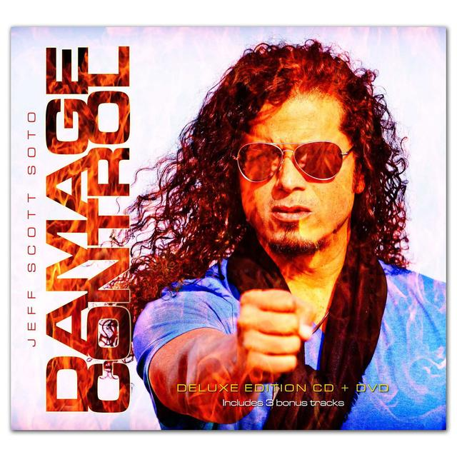 Frontiers Records - Jeff Scott Soto - Damage Control Deluxe CD/DVD
