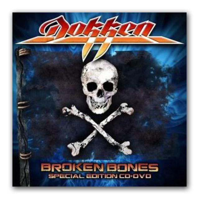 Frontiers Records - Dokken  - Broken Bones Deluxe CD/DVD