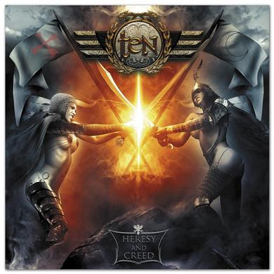Frontiers Records - Ten  - Heresy And Creed CD