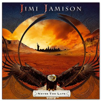 Frontiers Records - Jimi Jamison - Never Too Late CD