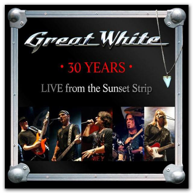 Frontiers Records - Great White  - 30 Years - Live from the Sunset Strip CD