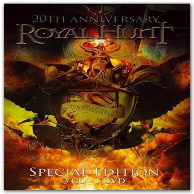 Frontiers Records - Royal Hunt  - 20th Anniversary: 3CD/DVD Special Edition