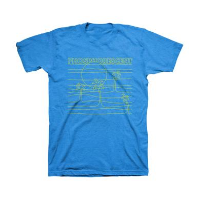 Phosphorescent Horizon Tee (Royal Blue)
