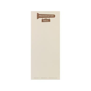 Preservation Hall Jazz Band Notepad Bundle