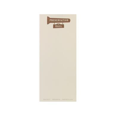 Preservation Hall Jazz Band Notepad