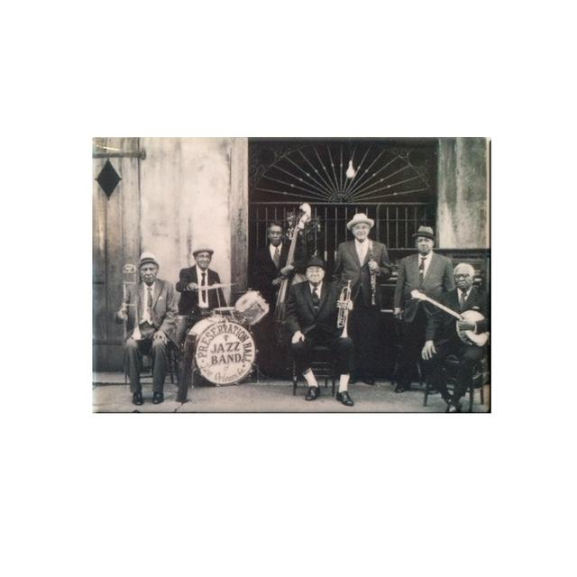 Preservation Hall Jazz Band Humphrey Brothers PHJB Magnet