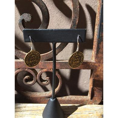 Preservation Hall Jazz Band Drum Logo Earrings