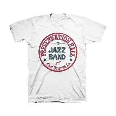 Preservation Hall Jazz Band Mens PHJB Drum Logo Tee (White)