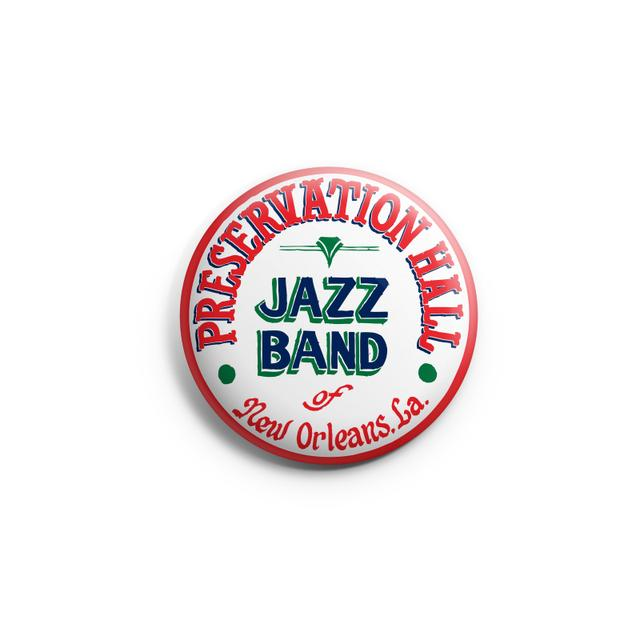 Preservation Hall Jazz Band PHJB Button